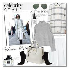 """""""Get the look"""" by vkmd ❤ liked on Polyvore featuring Tory Burch, MANGO, Casadei, Ray-Ban, Prada, OPI, Maison Margiela, Gucci, women's clothing and women"""