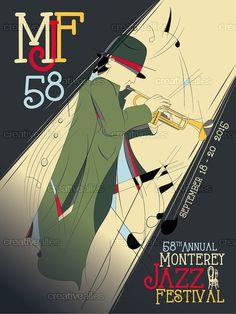 Monterey+Jazz+Festival+Poster+by+Seba+Sebi+on+CreativeAllies.com