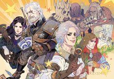 freestarisis,The Witcher 3,Ведьмак 3,The Witcher,Ведьмак, Witcher, ,фэндомы,Ге'эльс,Йеннифер,Witcher Персонажи,Геральт,Цири,король дикой охоты,Аваллак'х