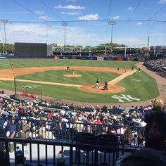 Take me out to the ballgame  #mlb #yankees #phillies #springtraining #springtraining2018 #tampa #florida #tampaflorida #tampafl #baseball #beisbol #grapefruitleague #aaronjudge