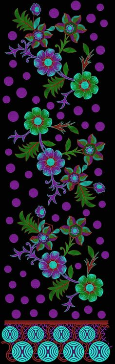 Latest Embroidery Designs For Sale, If U Want Embroidery Designs Plz Contact (Khalid Mahmood, +92-300-9406667) www.embroiderydesignss.blogspot.com Design# Dazy14 Embroidery Designs For Sale, Vintage Cards, Flower Patterns, Machine Embroidery, Pattern Design, Paisley, Velvet, Khalid, Prints