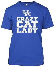 Kentucky Wildcats Crazy Cat Lady Tshirt (X-Large) #KentuckyBasketball #bbn #kentuckybball #UofK #uk #marchmadness #ncaatourney #universityofKentucky