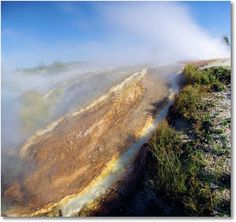 yellowstone national park images | Ojo Caliente Spring, Yellowstone National Park