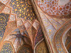 The amazing interiors of Sikandra (Akbar's Masoleum), Agra. By Ottoman & Turkish.