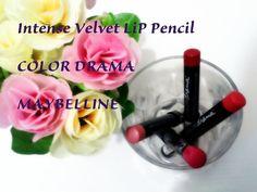 La Piecita de Chivi :  Velvet Lip Pencil COLOR Drama