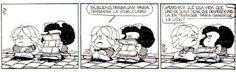 1 de mayo - Día Internacional del Trabajo - Miguelito y Mafalda