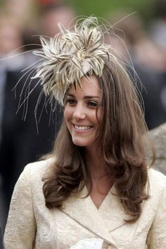 Kate Middleton, Duchess of Cambridge - Kate Middleton hats - Kate Middleton fashion - Kate Middleton style - Wedding hats - Marie Claire - Marie Claire UK Kate Middleton Hats, Pippa Middleton Wedding, Kate Middleton Style, Queen Kate, Princess Kate, Princess Style, Wedding Hair Up, Wedding Hats, 2017 Wedding