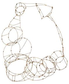 Meghan Patrice Riley - 'Interstitial' necklace