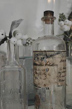 Love  xo--FleaingFrance...beautiful French bottles...