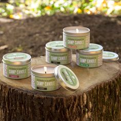 An ode to glamorous campers everywhere. This line is made from renewable and recyclable materials for the conscientious camper. #northernlightscandles #candles #downtoearth #camping #spring #musthaves #homedecor