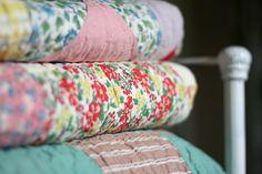 vintage quilts~