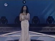 Rita Jahanforuz sings Hatkikva, the Israeli national anthem.