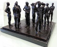 Grace da Costa 'The Spaces Between' Junk Yard, Bronze Patina, South African Artists, Sculptures For Sale, Positive And Negative, Bronze Sculpture, Chess, Costa, Spaces
