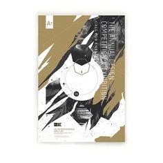 AIGA KC A7 Design Awards by Josh Lambert, via Behance