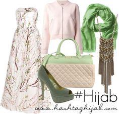 Hashtag Hijab Outfit #162 (Mix Match Hijab)