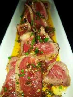 Presa de cerdo ibérico con aliño oriental #moraira #restaurante #food