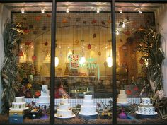 Betty Bakery in Brooklyn. Buttery beauteousness. Could you walk by this window without pressing your nose against it?