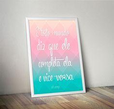 Poster Completa - COM MOLDURA - stamp
