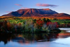 ... Katahdin Stream, Baxter State Park, Maine, White Mountain Photography