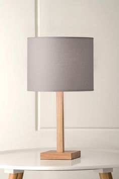 1080 Shortpants Ash Timber Table Lamp in Iron Pastel Palette, Pastel Colors, Art Nouveau, Timber Table, Scandi Style, Lamp Bases, Lamp Design, Scandinavian Design, Natural Light