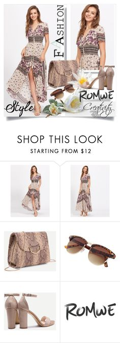 """""""ROMWE 9/10"""" by creativity30 ❤ liked on Polyvore featuring romwe"""