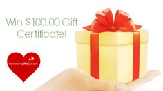 We're spreading the love with a totally awesome giveaway just in time for Valentine's Day! This time we have an exclusive prize — one winner will receive $100.00 gift certificate from Memorablegifts.com  http://www.memorablegifts.com/blog/valentines-day-giveaway-2015-win-100-gift-certificate/