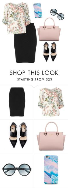 """""""sunday service"""" by apostolic-fashions ❤ liked on Polyvore featuring Manon Baptiste, Billie & Blossom, Michael Kors and Tom Ford"""