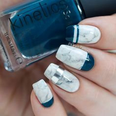 Paulina's PassionsKinetics Nail Systems Nordic Blue Collection Review & Nail Art