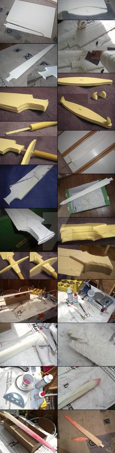 WIP 1 - Sailor Moon Galaxia Sword - Cosplay Prop by NettyCosplay