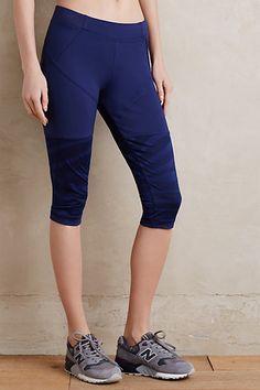 Adidas by Stella McCartney Zebra Tights #anthropologie