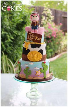 Hot Mama's Cakes  Sheriff Callie