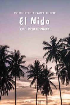 Plan to visit El Nido, Palawan in the Philippines? Check out our travel guide with what to do, when to go, where to eat and best hotels in the gateway to the wonderful Bacuit Archipelago + beautiful beaches and tips for boat tours to amazing islands. #elnido #philippines #asia #travel Bohol, Palawan, Cebu, Travel Advise, Travel Tips, Wanderlust Travel, Asia Travel, Manila, Beautiful Beaches