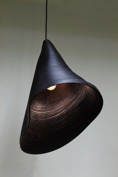 hyungshin hwang is a korean designer based in seoul; 'cardboard light series'