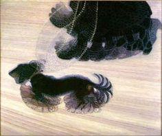 Dynamism of a Dog on a Leash by Giacomo Balla.