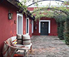 Estancia La Bamba / Vero Palazzo - Home Deco Spanish Style Homes, Spanish House, Exterior Colonial, Outdoor Spaces, Outdoor Decor, Back Patio, Garden Gates, House Colors, Home Deco