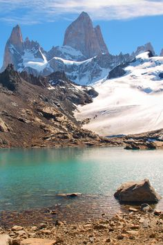 If you're into hiking, you'll love Los Glaciares National Park in Argentina. It may be harder to get to than your regular vacation spot, but the trek is well worth it #Argentina