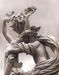 Detail, 'Apollo and Daphne' (1622-24) by Italian sculptor & architect Gian Lorenzo Bernini (1598-1680). collection: Galleria Borghese, Rome. Beautifully photographed (2009) by kgphoto47. via flickr