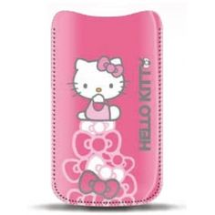 HUSA HELLO KITTY HKPOPUP2P POUCH PASTEL PINK PT. IPHONE4/4S