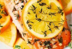 clickpoftabuna.ro mancaruri-rapide cel-mai-gustos-somon-la-cuptor-cu-portocala-si-rozmarin index.html Salmon Recipes, Salmon Food, Cake Recipes, Pineapple, Fruit, Html, Food News, Master Chef, Mai