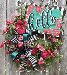 Hello by Holiday Baubles
