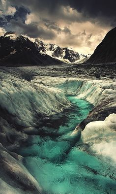 The Serpentine Offering by Alexandre Deschaumes This is a swirling glacial stream in the Chamonix Valley. It's an ominous surrounding atmosphere. Chamonix Mont Blanc - France Equipment: Canon L Lee filters All Nature, Amazing Nature, Photography Sites, Landscape Photography, Alexandre Deschaumes, Places To Travel, Places To See, Beautiful World, Beautiful Places