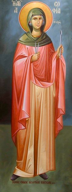 St. Sophia the physician - May 22