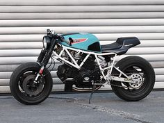 ϟ Hell Kustom ϟ: Ducati 750 Sport 1988 By JvB Moto
