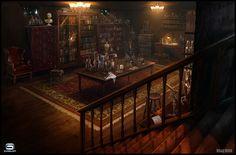 Steampunk Laboratory by VladMRK.deviantart.com on @DeviantArt