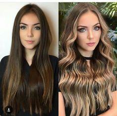 Hair Color 2018, Hair Color Purple, Hair 2018, Balyage Long Hair, Ombre Hair, Balayage Hair, Cabello Hair, Hair Color Caramel, French Twist Hair