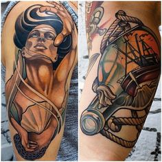 In progress tattoo of alice from the grimm fairy tales for Tattoo artist job description