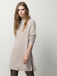 RIBBED MAXI SWEATER - Essential Knitwear - WOMEN - United States