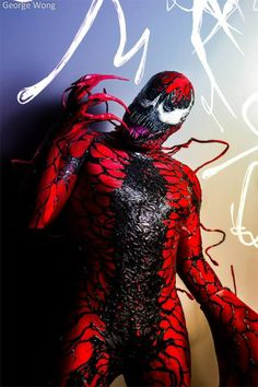 Character: Carnage (Cletus Kasady) / From: MARVEL Comics 'The Amazing Spider-Man' / Cosplayer: Unknown
