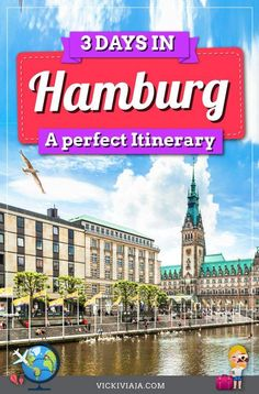 Let's go together on a Hamburg tour with this Hamburg 3 days Itinerary. A cool individual tour through Hamburg, Germany including all the best sights. #Vickiviaja Reisen In Europa, Travel Information, Germany Travel, Great View, Public Transport, Tour Guide, Budget Travel, Travel Guides, Night Life