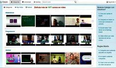 Edutin, cerca de 1700 vídeo cursos gratuitos en español